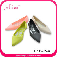 fashion crystal sandals plastic jelly shoes women pvc material shoes pvc injection sandals for women