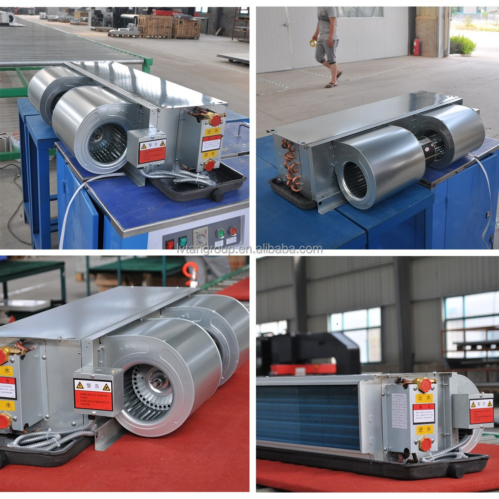 gree fan coil unit - concealed ducted type,concealed fan coil for duct installation