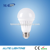 2700K~6000K color temperature 9w 850lm led light bulb