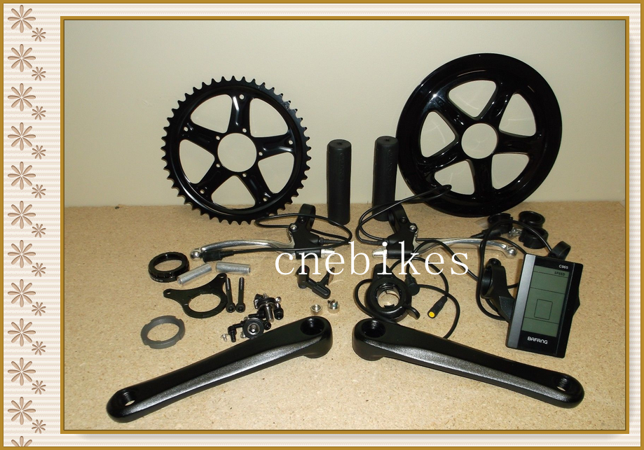 New design bafang 8fun ebike kit conversion 250w BBS01 With C965 display