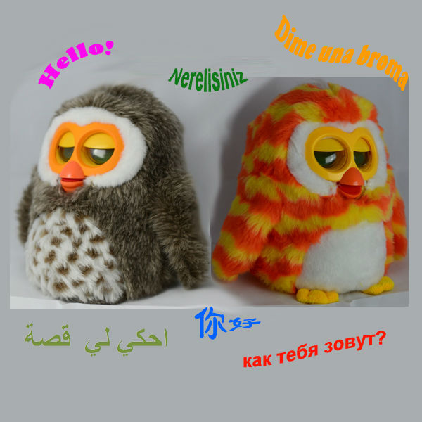 2013 new cheapest toys for kids,cute OWL design,multi language support-D
