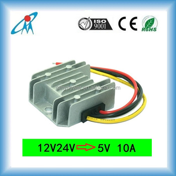 1224V to 5V 10A vehicle dc converter car LED driver converter battery charger