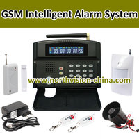 new gsm wireless alarm system based on quad band with 24 wireless zone
