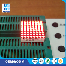 KeRun Indoor P2.5 small size 20x20mm 8x8 dot matrix single color led display module