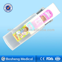 Bosheng plastic box with medical plster for first aid