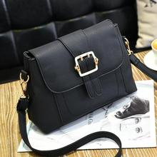 PU Leather Crossbody Bag Zinc Alloy Polyester Solid 82235 leather cross body hand bag