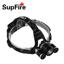 SupFire powerful 1100 liumen emergency LED headlamp Flashlight