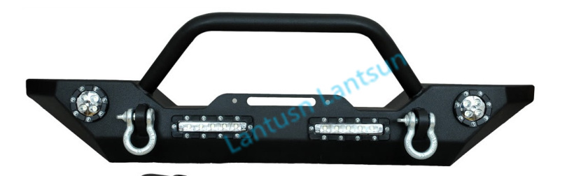4x4 jeep front bumper steel black color for wrangler JK 07~14