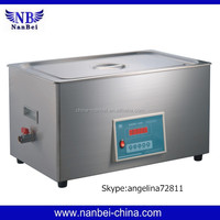 Single-chip controller automatic machine to clean ultrasonic injector