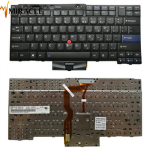 teclado laptop US Keyboard for Lenovo T410 T410i T410s T400s T410si keyboard us layout