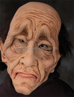 MSK_1_1_00030 Old Man Latex Rubber Halloween Masks
