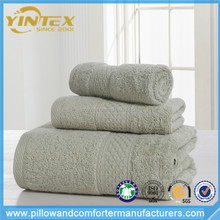 High quality plain dyed towels bath set luxury hotel color with,hotel towels supplier in pakistan hotel towel set