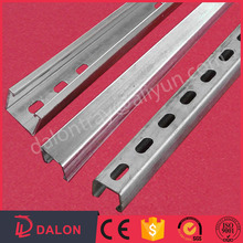 High quality hot-dipped galvanized steel Slotted C Channel unistrut Size
