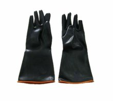 Black Industrial Rubber Safety Glove