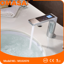 2016 new faucet one touch smart faucet electrical basin mixer