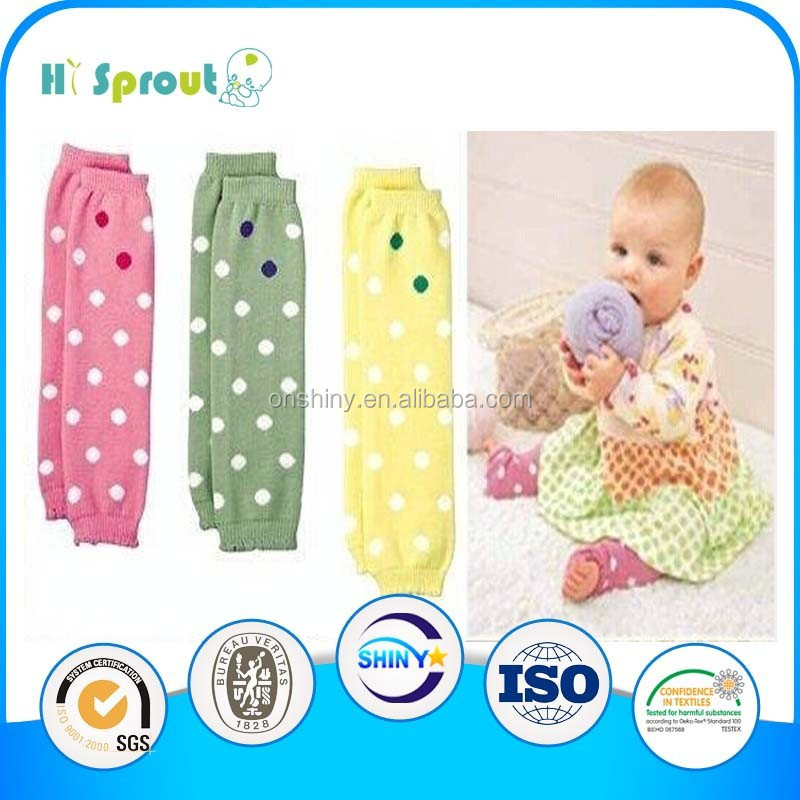 Colorful cute baby leg warmer wholesale