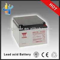 yuasa np24-12 12v charger for 12v 24ah battery 12v 24ah desulfator lead acid battery deep cycle Valve regulated 12v 24ah