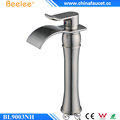 Beelee BL9003NH Lavatory Sink Faucet Brushed Nickel Waterfall Basin Tap