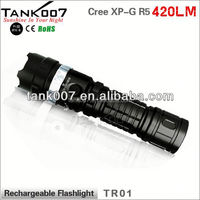 Battery Power Led hand rechargeable torch used for outdoor hunting lovers