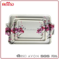 Restaurant hotel supplies partyware melamine party serving tray