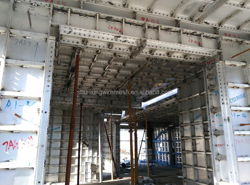 Cost optimal aluminum formwork construction building for Price of construction materials