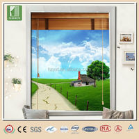 China wooden window blind parts