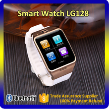 Bluetooth Mobile Watch Phones Lg128 Touch Screen BT 3.0 Smart Phone Watch with Remote Control Camera Smartwatch Android
