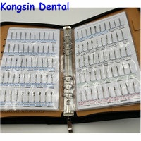 Durable Dental Diamond Burs book Used for Handpiece