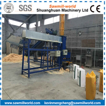 Vertical Automatic Wood Shaving Baling Machine