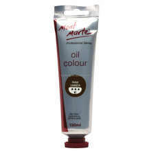 Mont Marte Oil Paint 100mls - Raw Umber