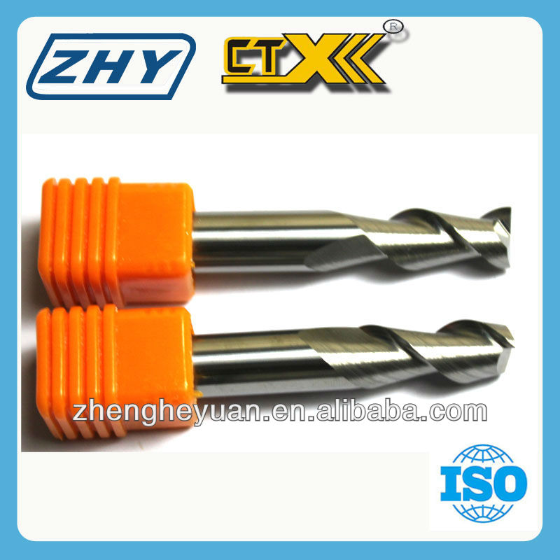 Tungsten Carbide Helix End Mill Aluminum Processing