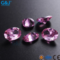 guojie brand wholesale chaton High Quality rhinestone for Hair Accessories Oval Shape Jewelry Making crystal Zirconia