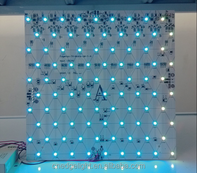 300mm x 100mm small size aluminum base PCB material led electronic display rgb led <strong>module</strong>