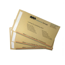 Brown kraft paper envelope with customize printing wholesale