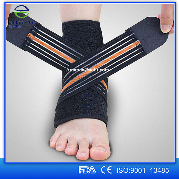 2016 Newest Anti Fatigue Ankle Support Sleeve, Ankle Brace Compression Foot Sleeve Ankle