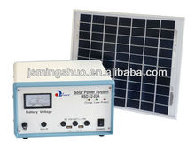 10W portable solar power system with phone charger
