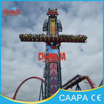 2016 Changda Park thrill amusement park rides equipment Sky drop