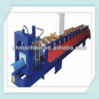 Trade Assurance 312 Automatic Galvanized Metal Ridge cap roll forming machine