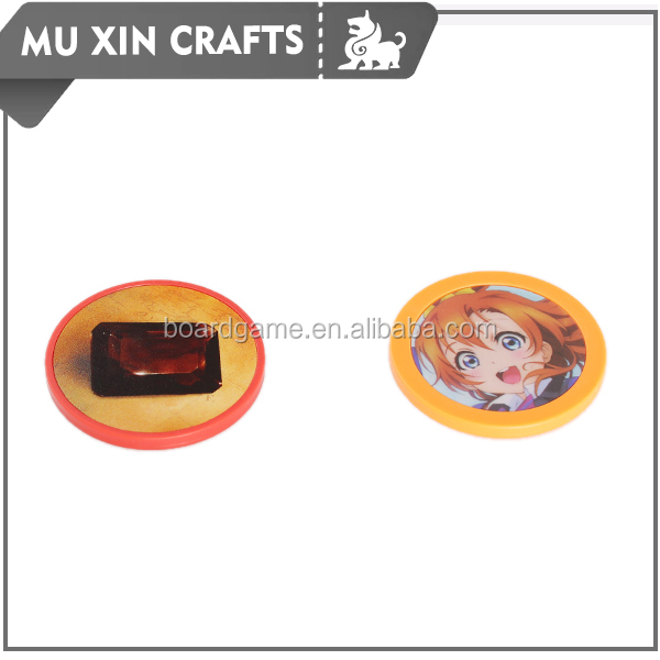 Cheap Customized plastic poker chips 39mm