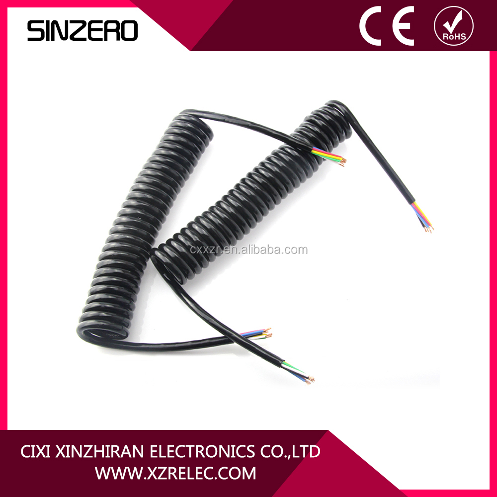 High Quality Trailer Light Cable 7 Core Trailer Cable For Trailer Light System