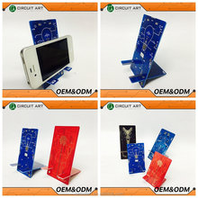 Hand mobile phone stand PCB Customized Unique Gift PCB Circuit Art Souvenir Smart Phone Holder