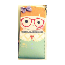 Ideal Birthday Gifts Couple Case for iPhone 5 Leather