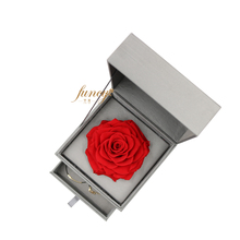 Luxury Gift Box Gift Set Preserved Big Single Red Flower Rose