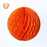 New product honeycomb paper decorations for indoor decoration