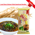 Dry Noodles 348g Chinese Local Flavor Sichuan Pickle Sauerkraut Noodles 1.25mm Xiang Nian Food 6 Sauce Bags Noodles