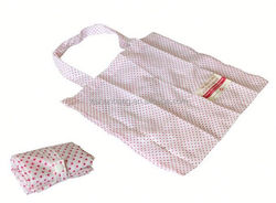 polyester and mesh beach bag with cooler/ custom polyester shopping bag 210d polyester foldable bag