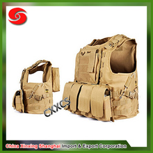 Cheap load bearing vest Tactical gear army vest ISO and SGS Standard