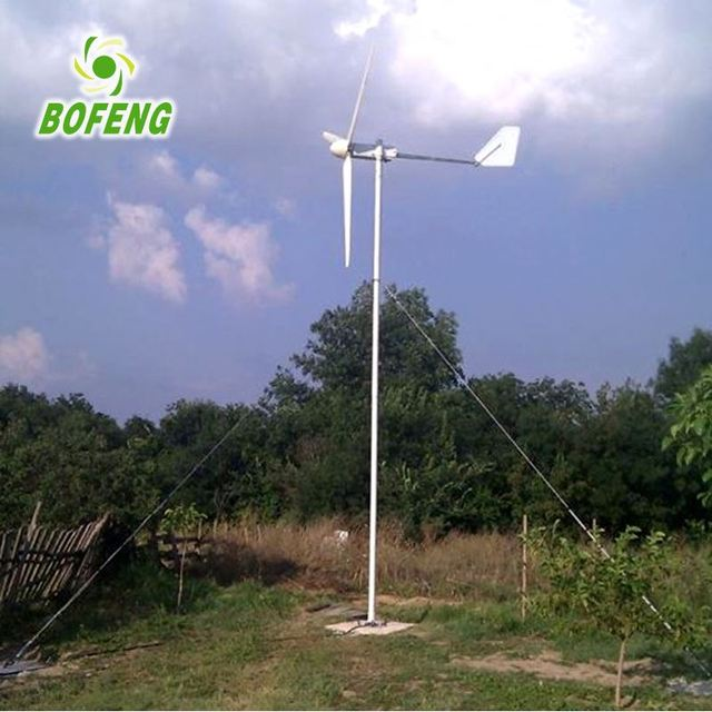 Strong quality all kinds of 1kw horizontal axis wind turbine generator power price