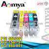 Aomya 2013 Newest !!! Refill ink cartridge for canon pixma IP7250(PGI550/CLI551) with reset chip made in Zhuhai