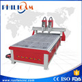 3d cnc router FLDM 1325 two heads wood carving machinery